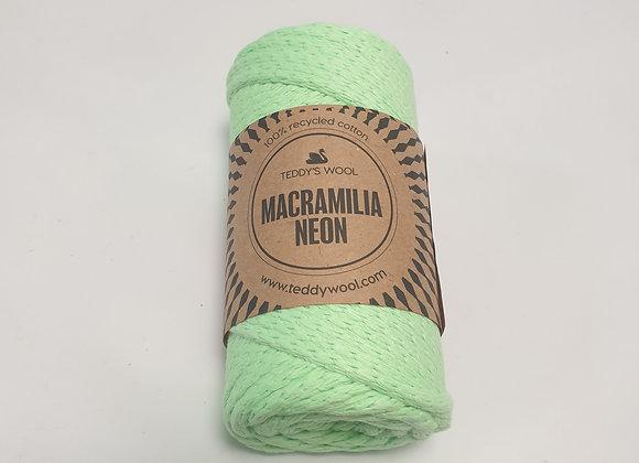 חוט מקרמליה נאון- ירוק