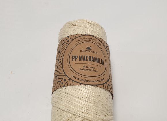 חוט מקרמליה pp- שמנת