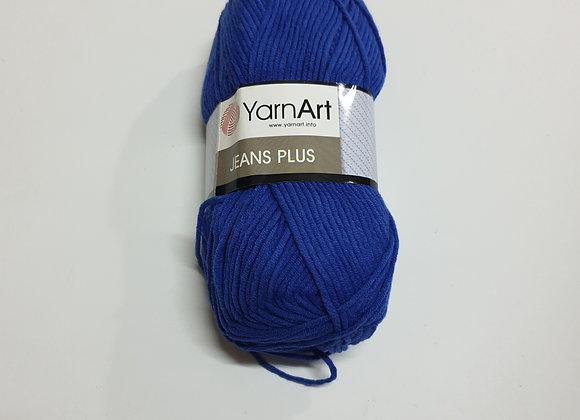 ג'ינס פלוס-כחול 637