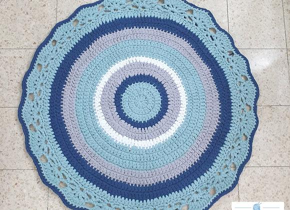 שטיח סרוג דגם אלמוג