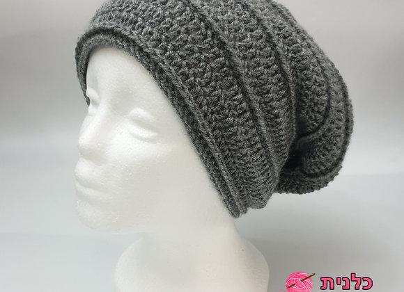 הוראות בעברית לסריגת כובע אופנתי