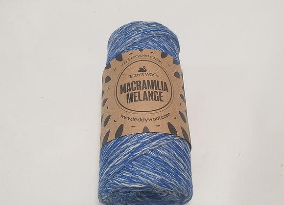 חוט מקרמליה מלנג- כחול לבן