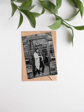 Free Elegant PSD Invitation Card Mockup.