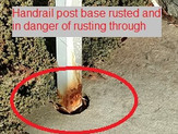 Maintenance Minute: Paint Your Guiderail / Handrail Posts Before Someone Gets Hurt