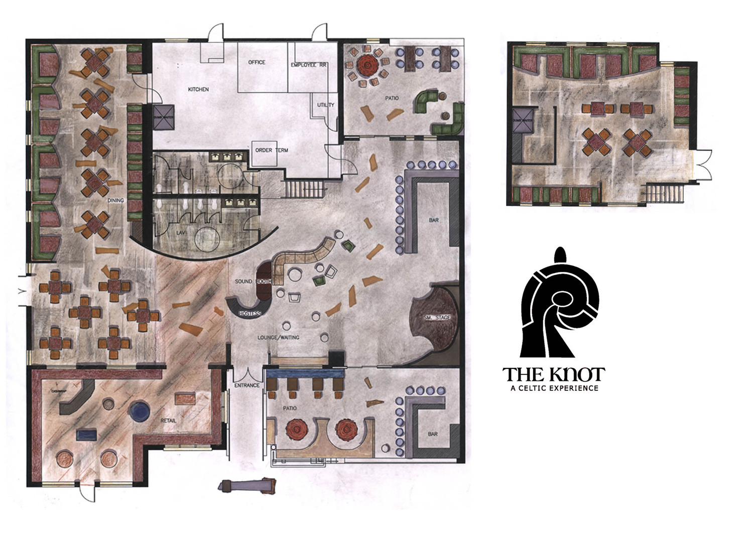 The Knot //Restaurant & Gathering Place