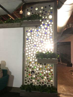 Baker Technologies // Bottle Wall