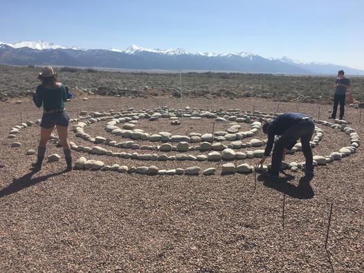 Labyrinth // Joyful Journey Hotsprings