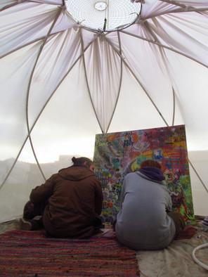 The Lotus Temple // Interior