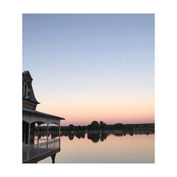 Douce soirée 🎈 _#soirdété #landscape #normandie #lamaisonplume #laseine #homesweethome