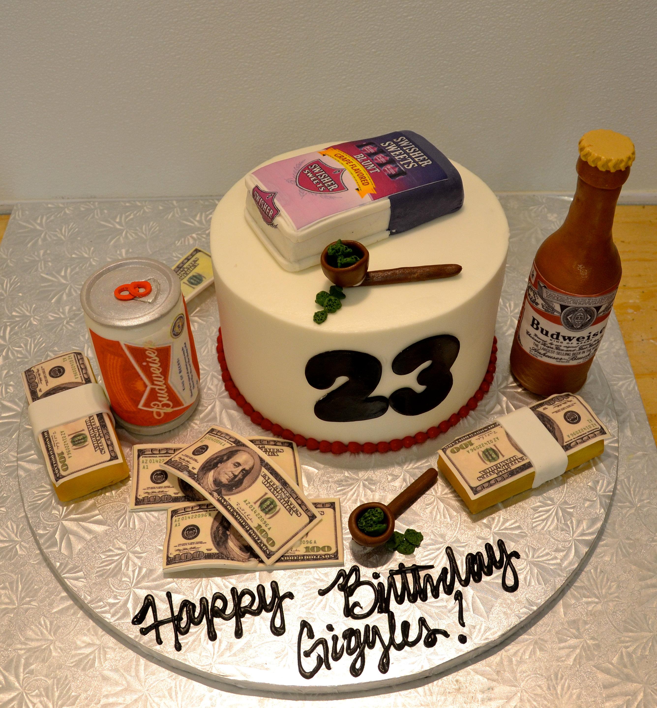 Custom Birthday Cake Dallas