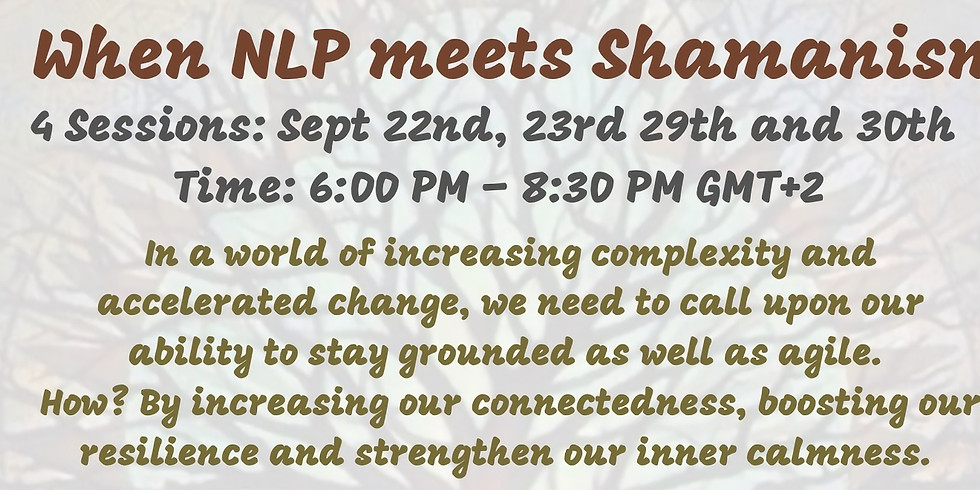 When NLP meets Shamanism - Model the experience