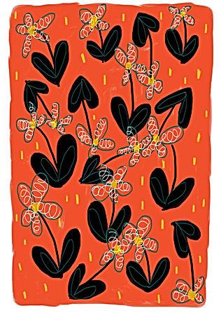 'Maria' Foliage Pattern