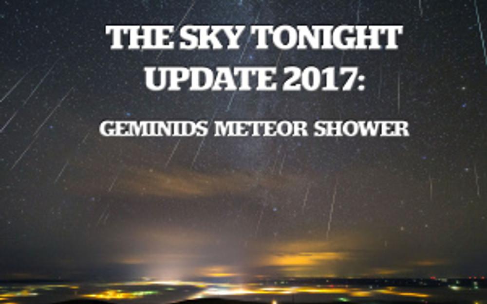 Geminids Meteor Shower