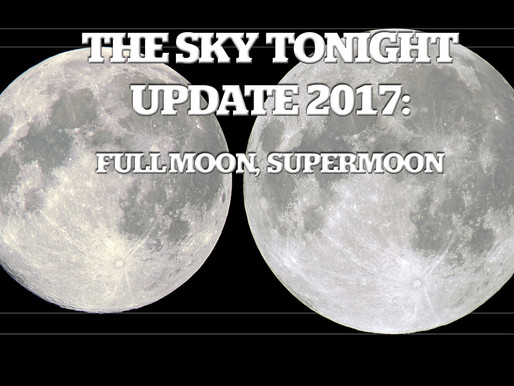 The Sky Tonight Update:  Dec. 3, Full Moon, Supermoon
