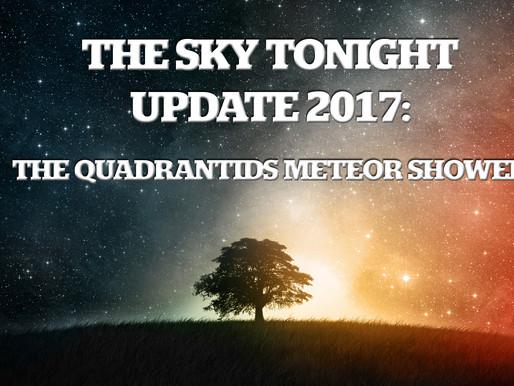 Quadrantids Meteor Shower – January 3, 4