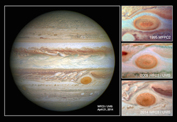 jupiter, great red spot