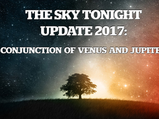 The Sky Tonight Update:  Nov. 13, Conjunction of Venus and Jupiter