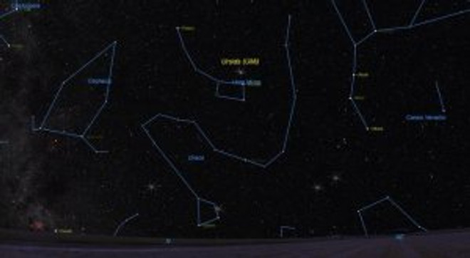 Ursids meteor shower