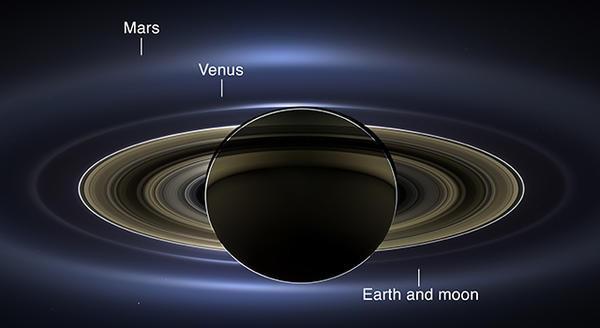 Cassini at Saturn 1
