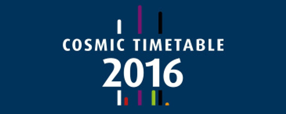 cosmic hightlights of 2016