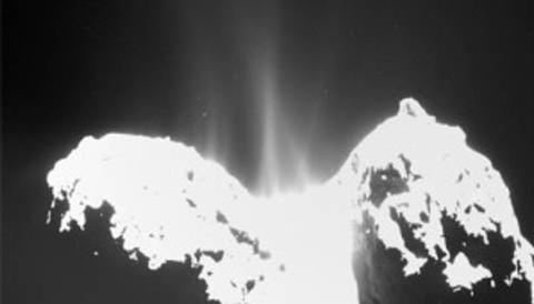 Comet 67p water