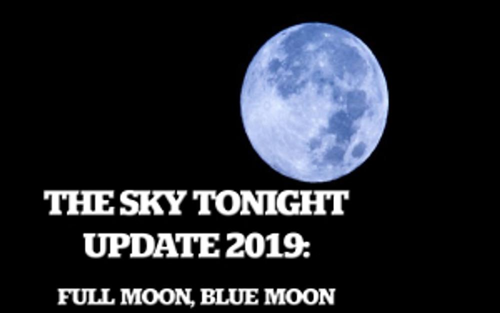 Full Moon, Blue Moon