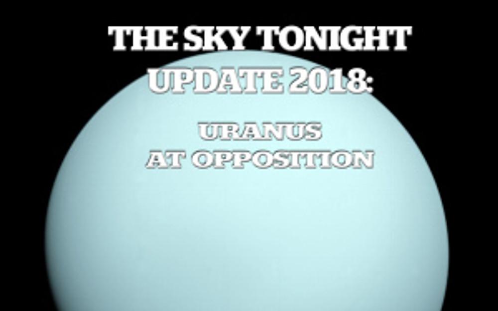 Uranus at Opposition