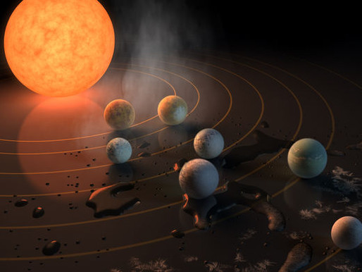 Major Discovery:  7 Earth-Size Planets Discovered Orbiting Nearby Star