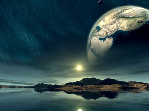 Discovery of Ocean Waves off Earth?