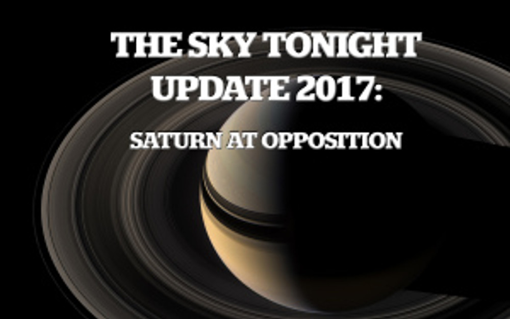 Saturn at Opposition