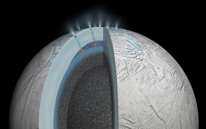 warm ocean on Enceladus