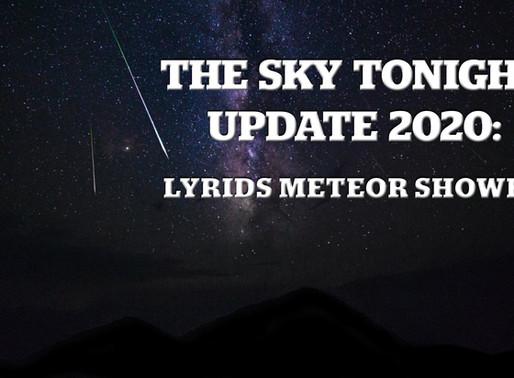 The Sky Tonight Update: Lyrids Meteor Shower