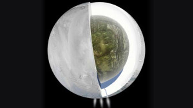 ocean on Enceladus