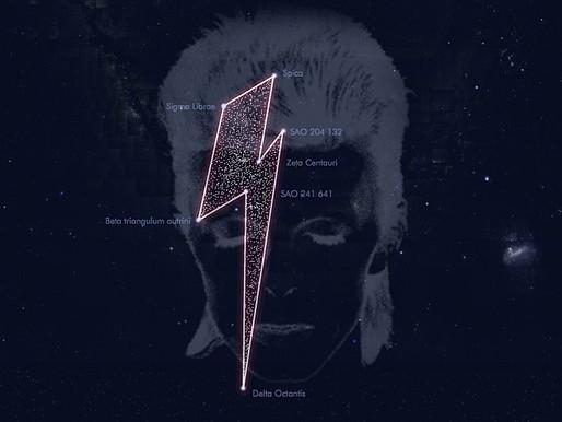 The David Bowie Constellation – Aladdin Sane