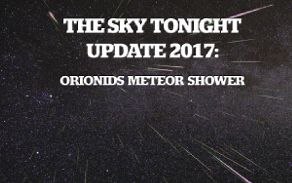 Orionids Meteor Shower