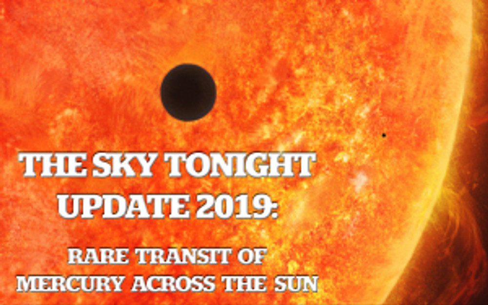Rare Transit of Mercury Across the Sun