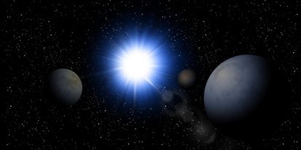 compressed white dwarf star
