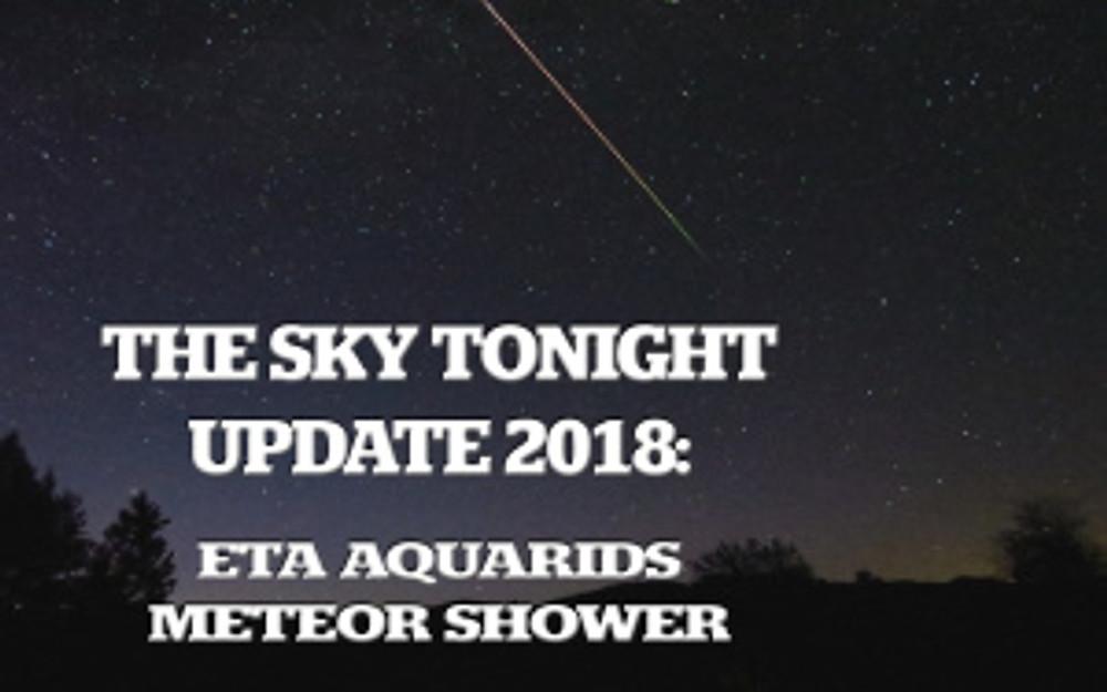 eta aquarids meteor shower