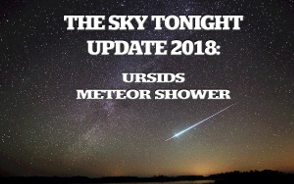 Ursides Meteor Shower