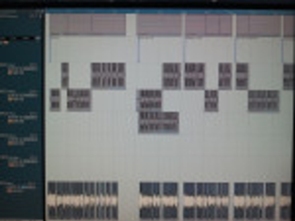 Multiple takes to a voice over