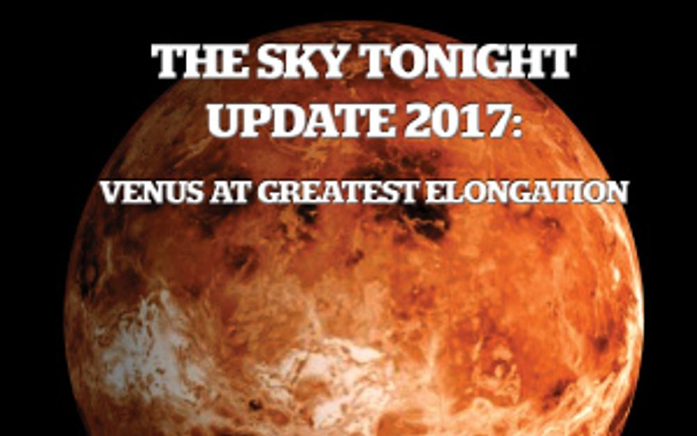 Venus at Greatest Eastern Elongation