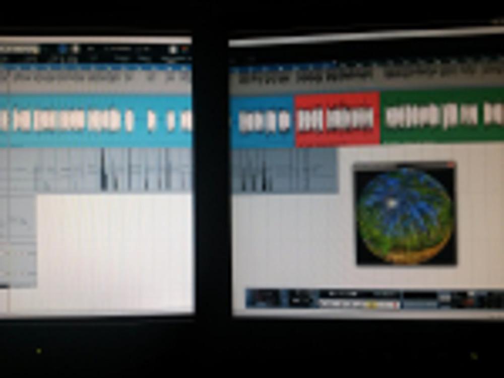 Planetarium video and audio project