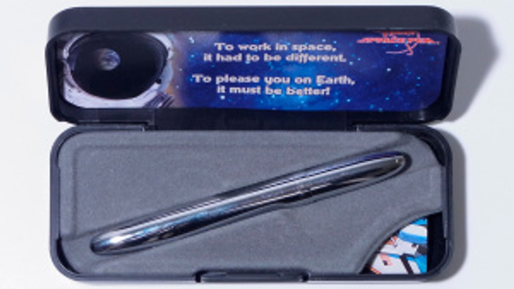 why do astronauts use space pens