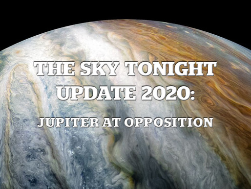 The Sky Tonight Update:  Jupiter at Opposition