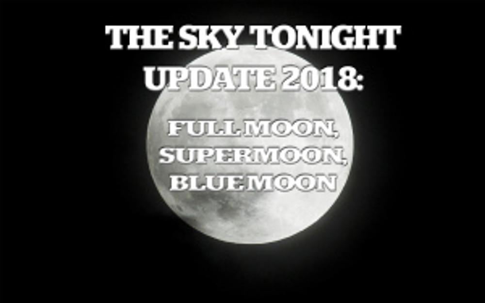 full moon, super moon, blue moon