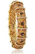 Diamond, Sapphire, and Quartz Bracelet Donated by Lee Michaels