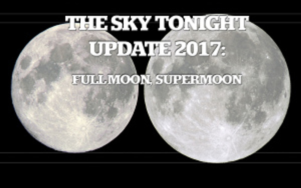 Full Moon, Supermoon