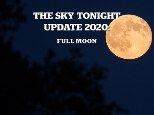 The Sky Tonight Update: Full Moon
