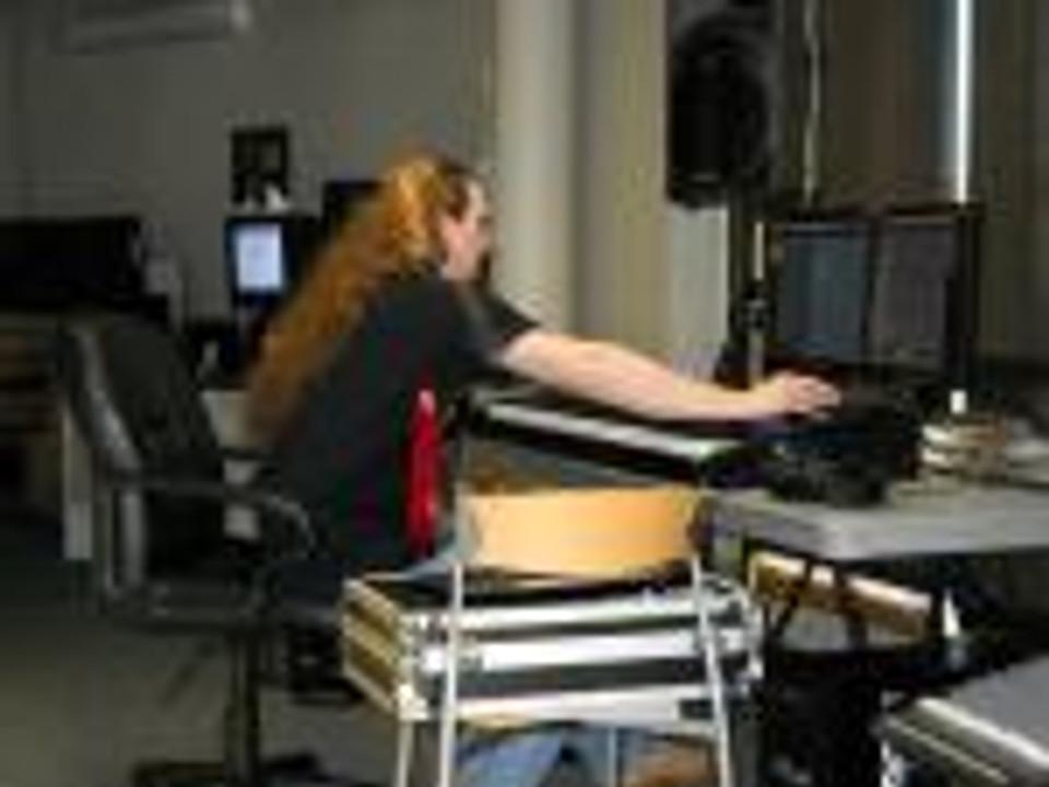recording music at work