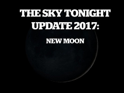 The Sky Tonight Update:  Nov. 18, New Moon